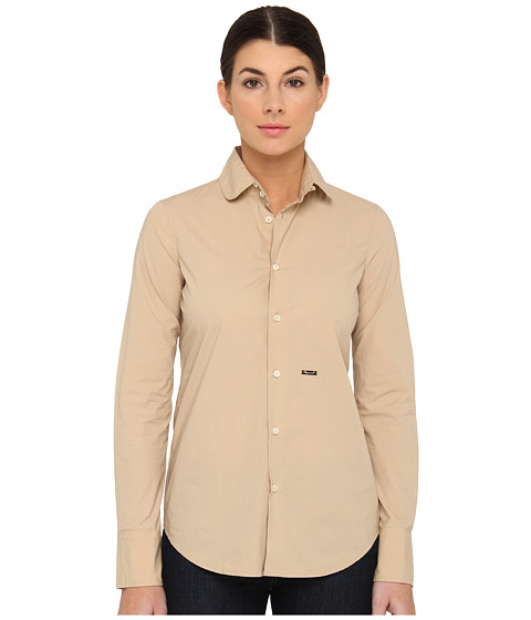 DSQUARED2 - S75DL0327 (Tan) Women's Blouse