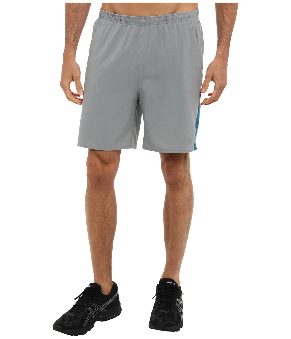 The North Face - Agility Short (Monument Grey/Egyptian Blue) Men