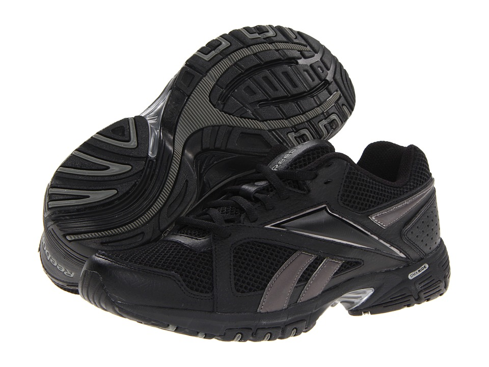 Reebok - Advanced Trainer 2 (Black/Silver) Men's Shoes