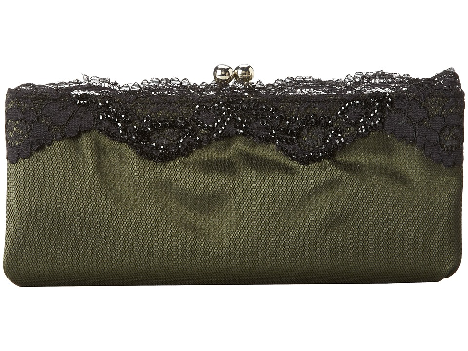 Nina - Milady (Green) Clutch Handbags