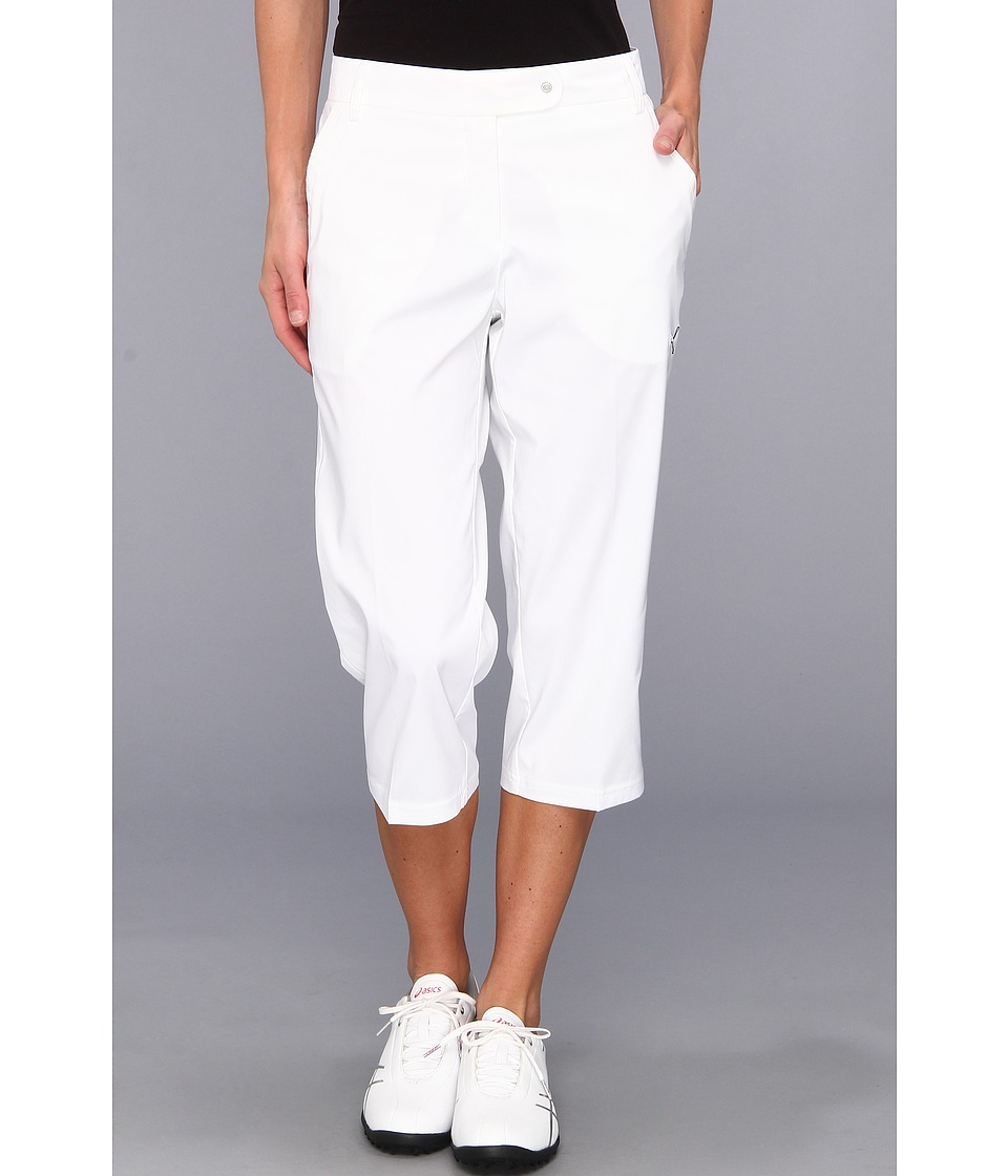 PUMA Golf - Solid Golf Tech Capri '14 (PUMA White) Women's Capri