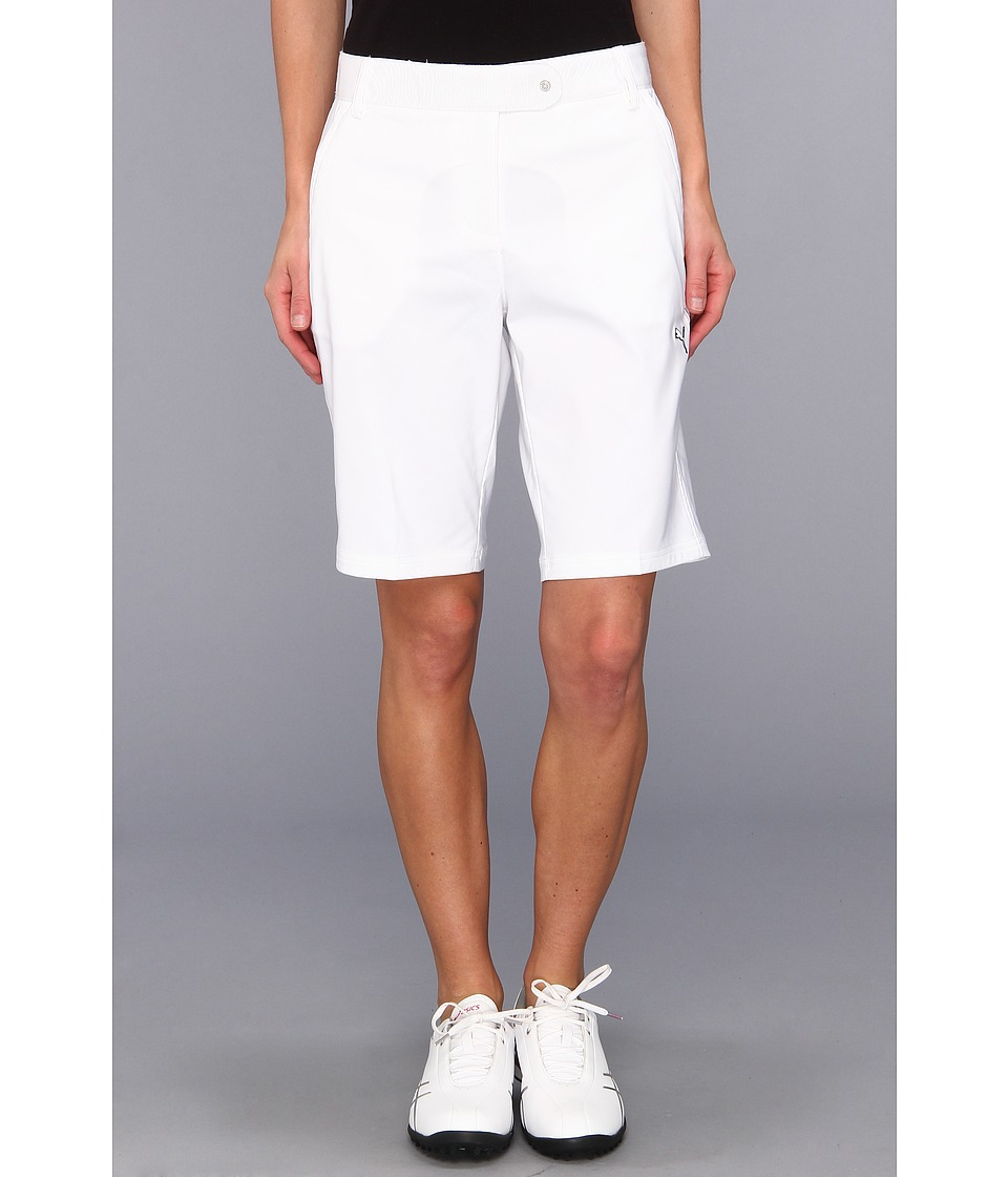 PUMA Golf - Solid Tech Bermuda Golf Short '14 (PUMA White) Women's Shorts
