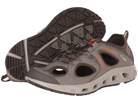Columbia - Supervent (Mud/Signal Orange) Men's Shoes
