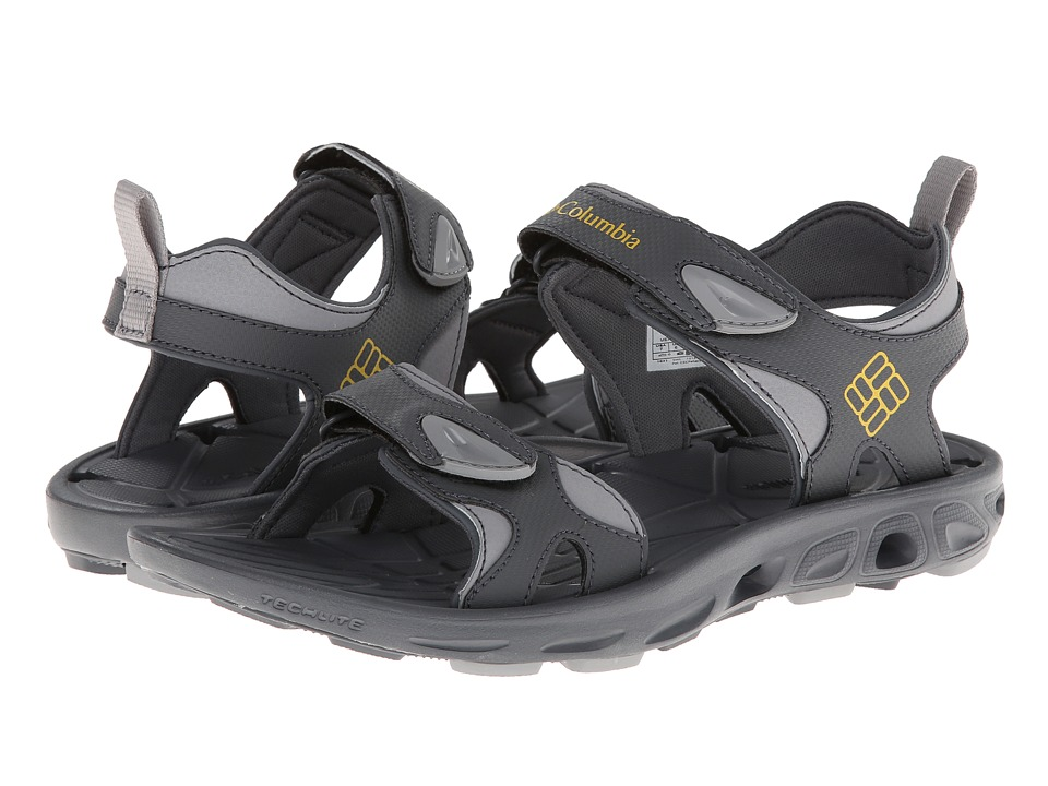 Columbia Techsun Vent (Charcoal/Yellow Curry) Men