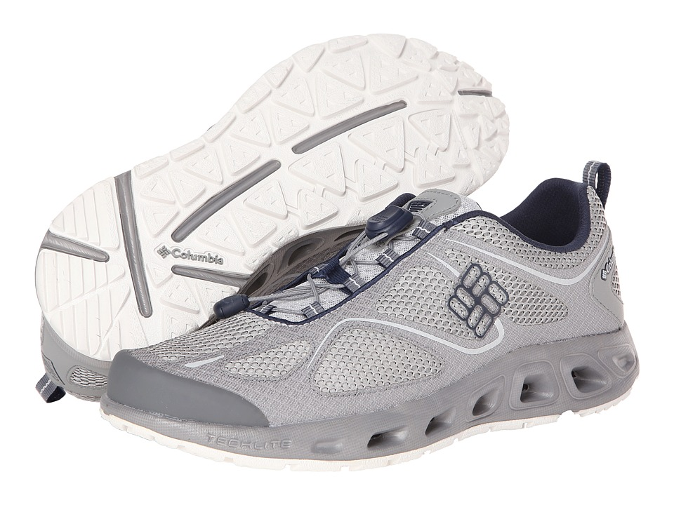Columbia - Powervent PFG (Cool Grey/Collegiate Navy) Men's Shoes