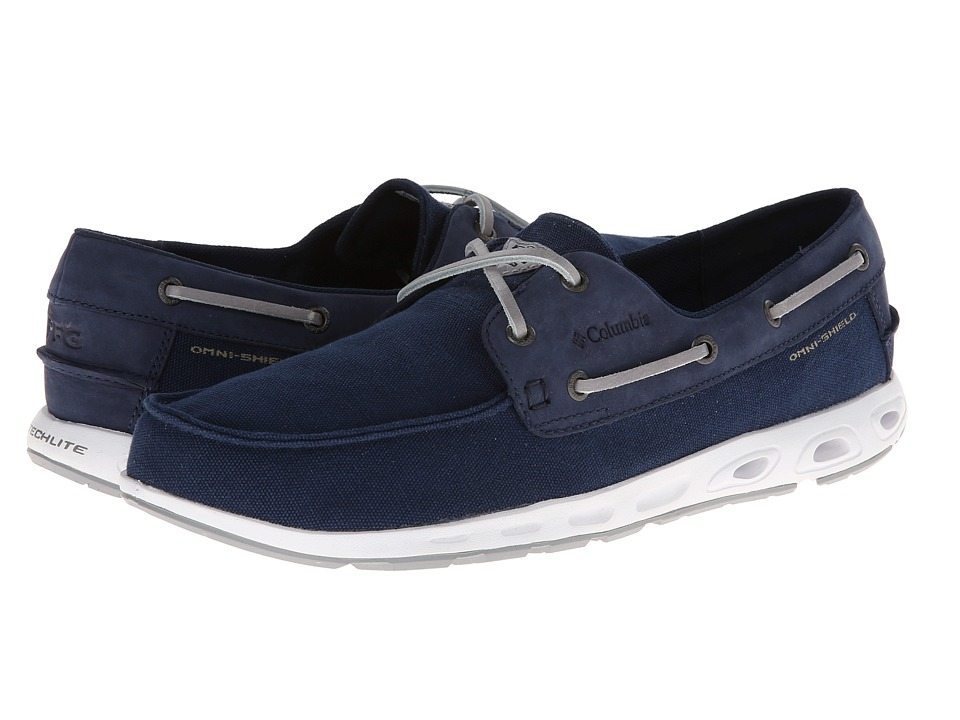 Columbia - Bonehead Vent PFG (Collegiate Navy/Columbia Grey) Men's Shoes