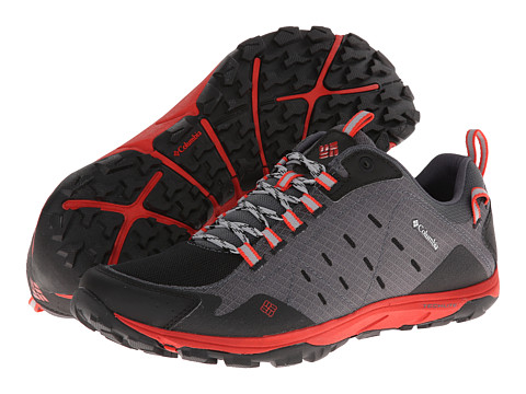 Columbia - Conspiracy Razor (Charcoal/Sail Red) Men's Shoes