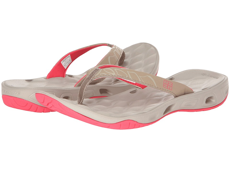 Columbia - Suntech Vent Flip (Bluff/Afterglow) Women's Shoes