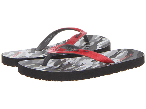 Speedo Kids - Loco Zorillas (Little Kid/Big Kid) (Camo/Extreme Red) Kids Shoes
