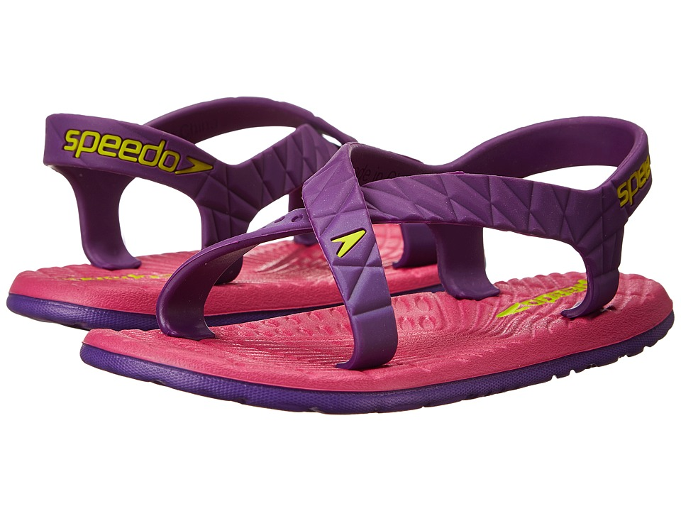 Speedo Kids Exsqueeze Me Flow (Little Kid/Big Kid) (Purple Amaranth/Fuschia) Girls Shoes