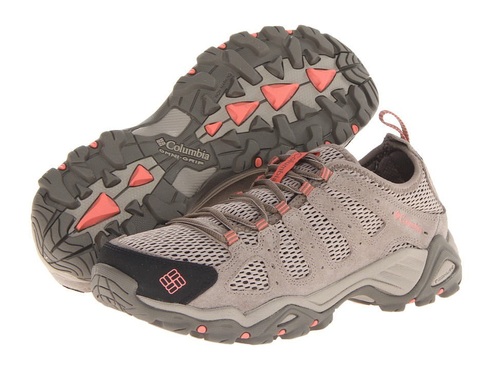 Columbia - Helvatia Vent (Pebble/Hot Coral) Women