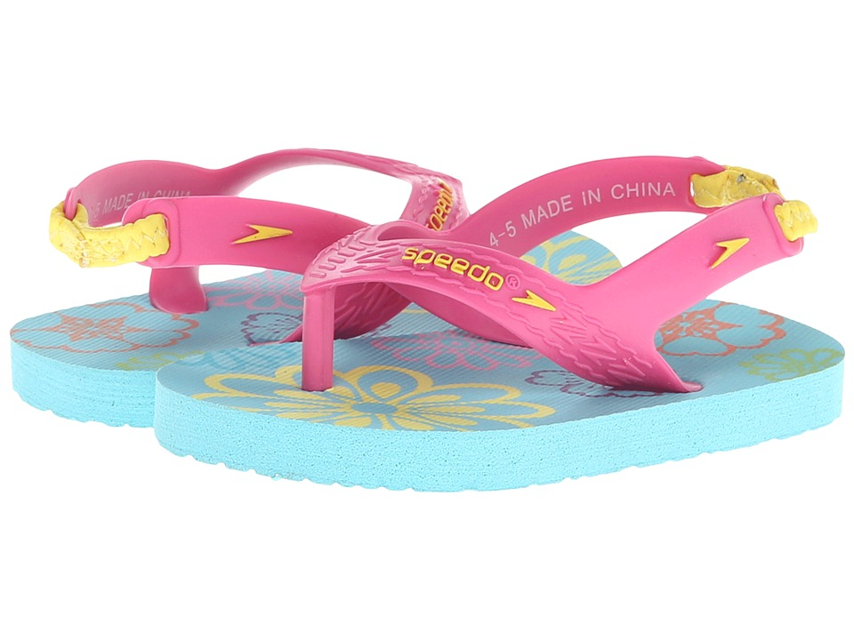 Speedo Kids - Loco Zorillas (Infant/Toddler) (Floral/Azalea Pink) Girls Shoes