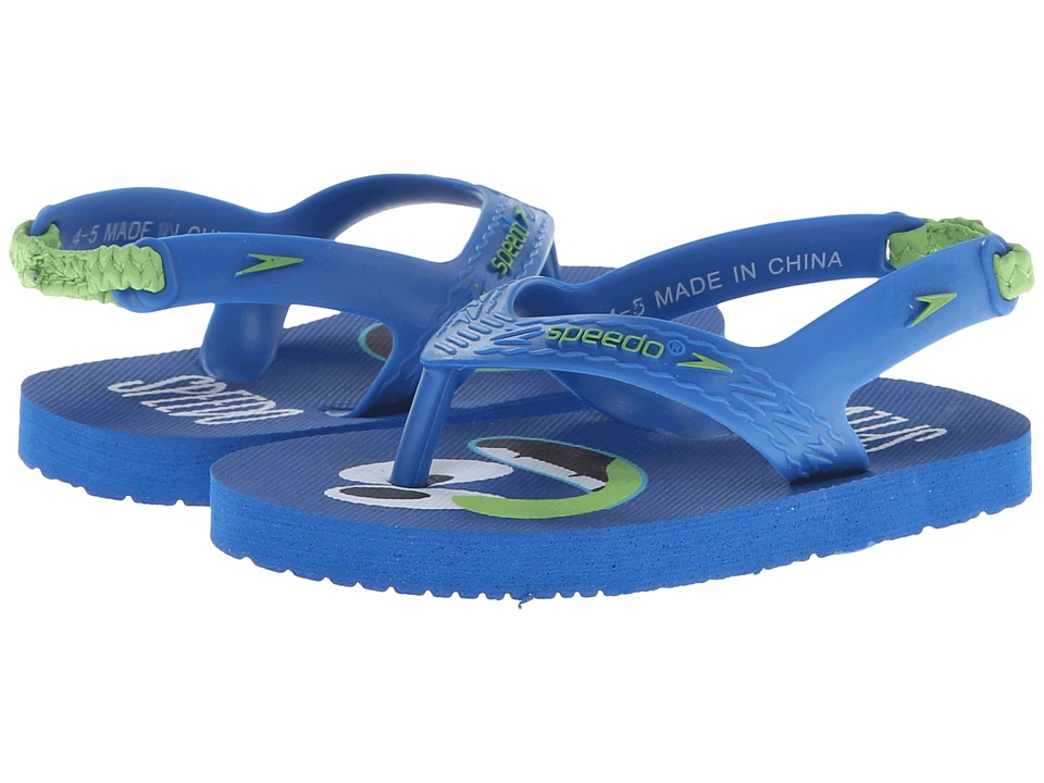 Speedo Kids - Loco Zorillas (Infant/Toddler) (Critter Creeps/Snorkel Blue) Boys Shoes