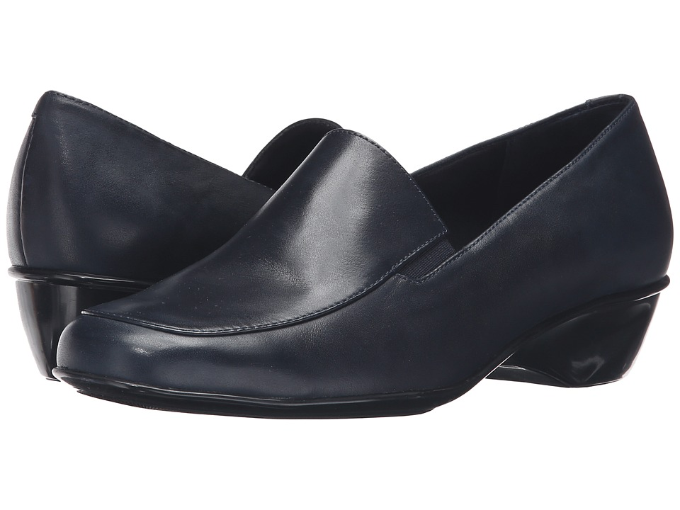 Walking Cradles - Trent (Navy Cashmere Leather) Women