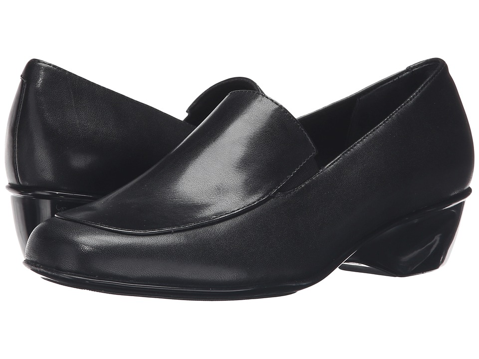 Walking Cradles - Trent (Black Cashmere Leather) Women's Shoes