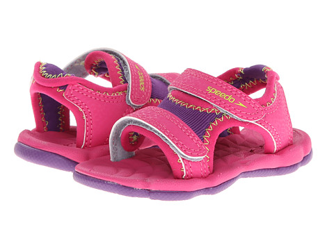 Speedo Kids - Grunion (Infant/Toddler) (Purple Amaranth/Limeade) Girls Shoes