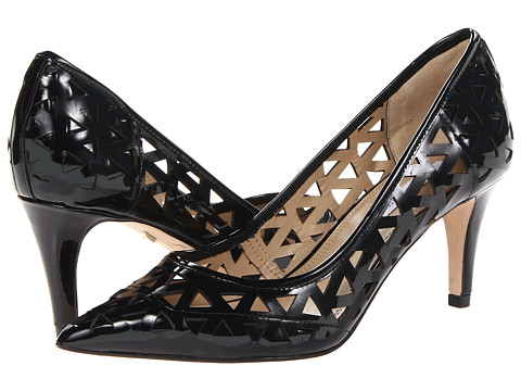 Diane von Furstenberg - Avery (Black Patent) High Heels