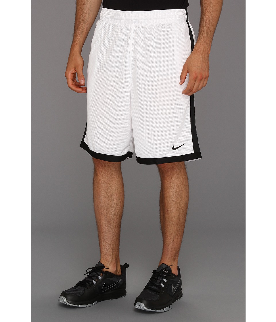 Nike - Cash Short (White/Black) Men's Shorts