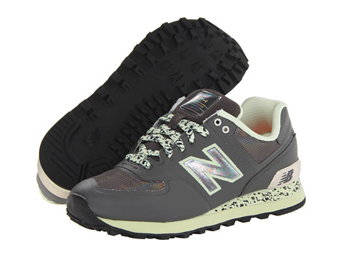 New Balance Classics - Atmosphere 574 - Limited Edition (Magnet/Glow-In-The-Dark Green) Men's Classic Shoes