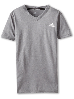 SALE! $9.99 - Save $8 on adidas Kids CLIMALITE Short Sleeve Tee (Medium Grey Heather) Apparel - 44.50% OFF $18.00