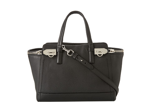 Salvatore Ferragamo - 21E424 Verve (Nero) Satchel Handbags