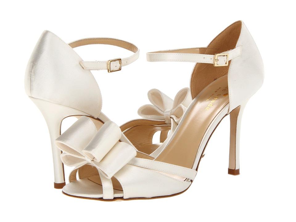 Kate Spade New York - Ivela (Ivory Satin) High Heels