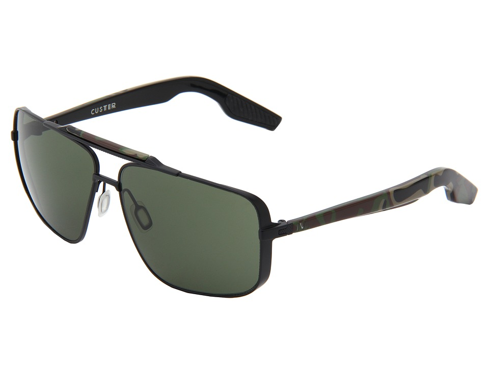 IVI - Custer (Black/Green Grey) Sport Sunglasses