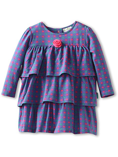SALE! $11.99 - Save $25 on le top Wonderland Petite Posies Tiered Dress Flower (Newborn Infant) (Plum) Apparel - 67.59% OFF $37.00