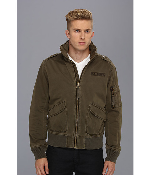Authentic Apparel - U.S. Army The Airland Bomber (Major Brown) Men's Coat