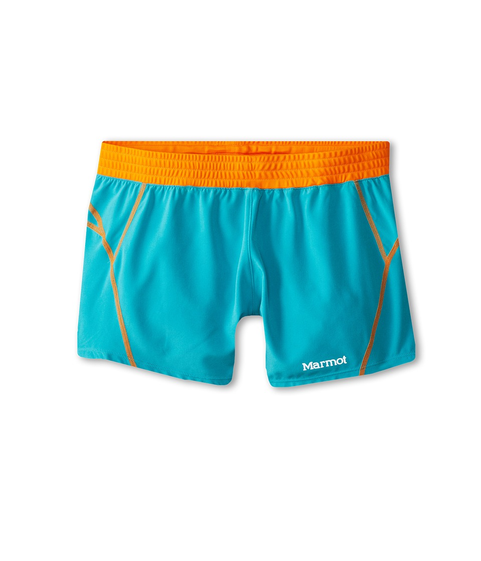 Marmot Kids - Mobility Short (Little Kids/Big Kids) (Sea Glass) Girl's Shorts