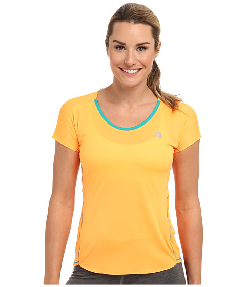 The North Face - Better Than Naked S/S Tee (Vitamin C Orange) Women's Short Sleeve Pullover