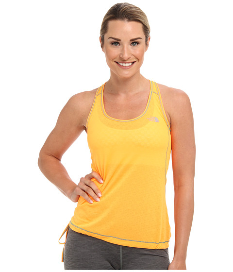 The North Face - Eat My Dust Mesh Tank (Vitamin C Orange) Women's Sleeveless