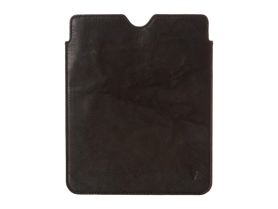 Frye - Cameron iPad Sleeve (Black Antique Soft Vintage) Wallet