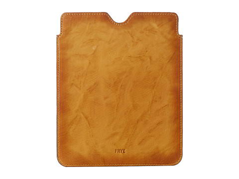 Frye Cameron iPad Sleeve (Yellow Antique Soft Vintage) Wallet
