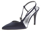 Stuart Weitzman Bridal & Evening Collection Globiased (Navy Satin)