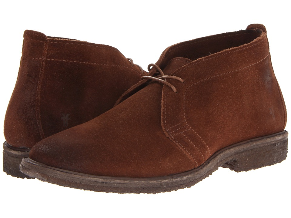 Frye - Carter Chukka (Brown Suede) Men