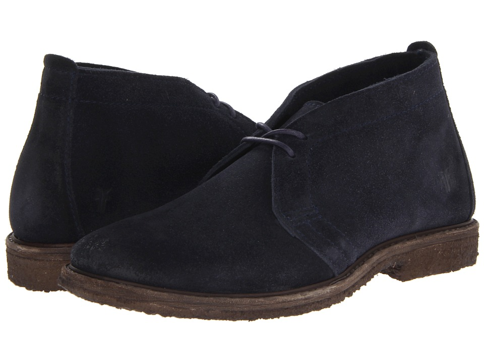 Frye - Carter Chukka (Indigo Suede) Men's Lace-up Boots