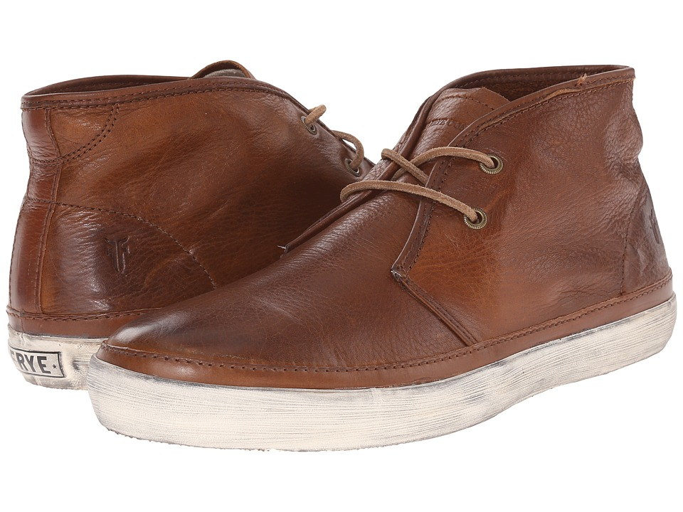 Frye - Gavin Chukka (Cognac Soft Vintage Leather) Men