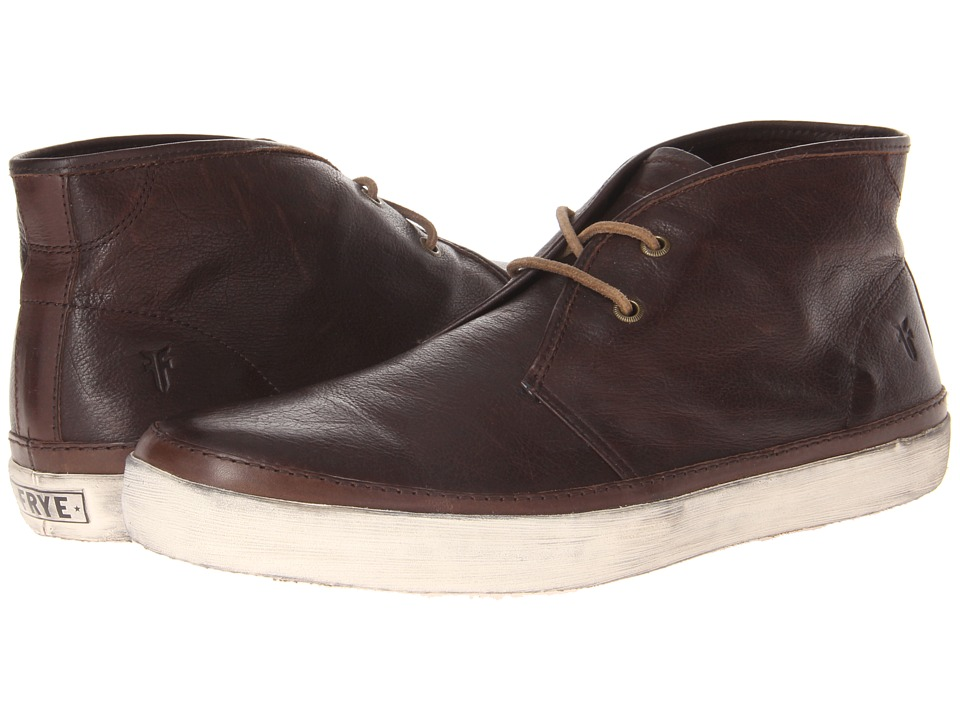 Frye - Gavin Chukka (Dark Brown Soft Vintage Leather) Men