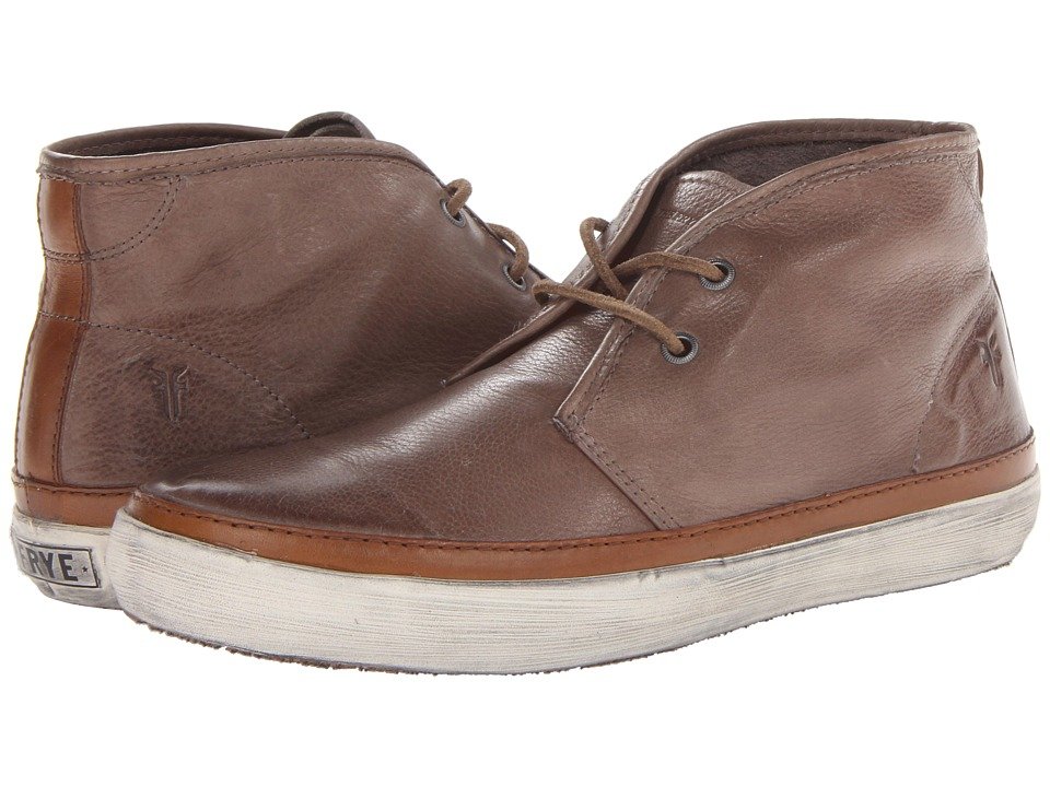 Frye - Gavin Chukka (Grey Soft Vintage Leather) Men