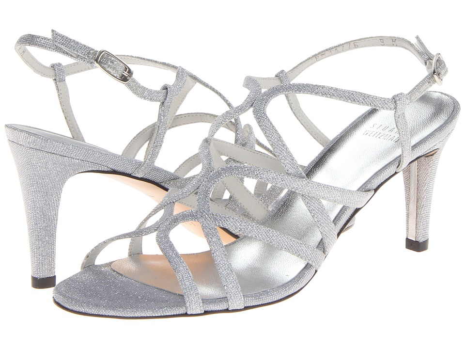 Stuart Weitzman Bridal & Evening Collection Turningup (Silver Nocturn) High Heels