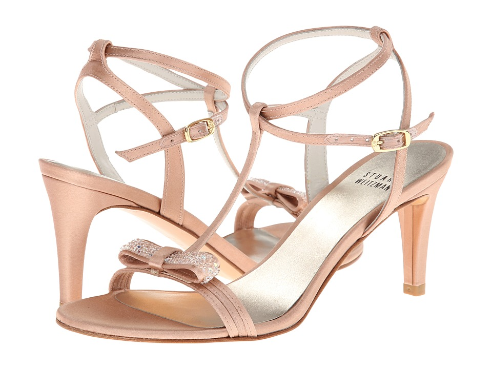 Stuart Weitzman Bridal & Evening Collection Zesty (Adobe Satin) High Heels