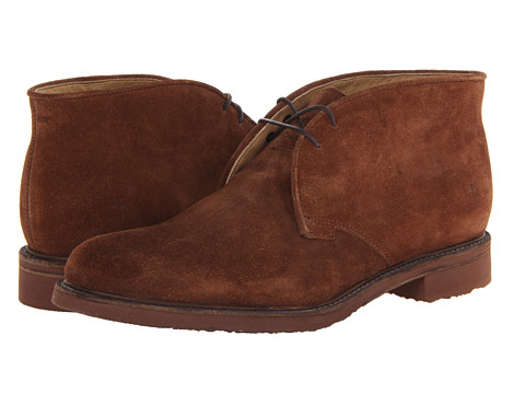 Frye - Jim Chukka (Brown Suede) Men