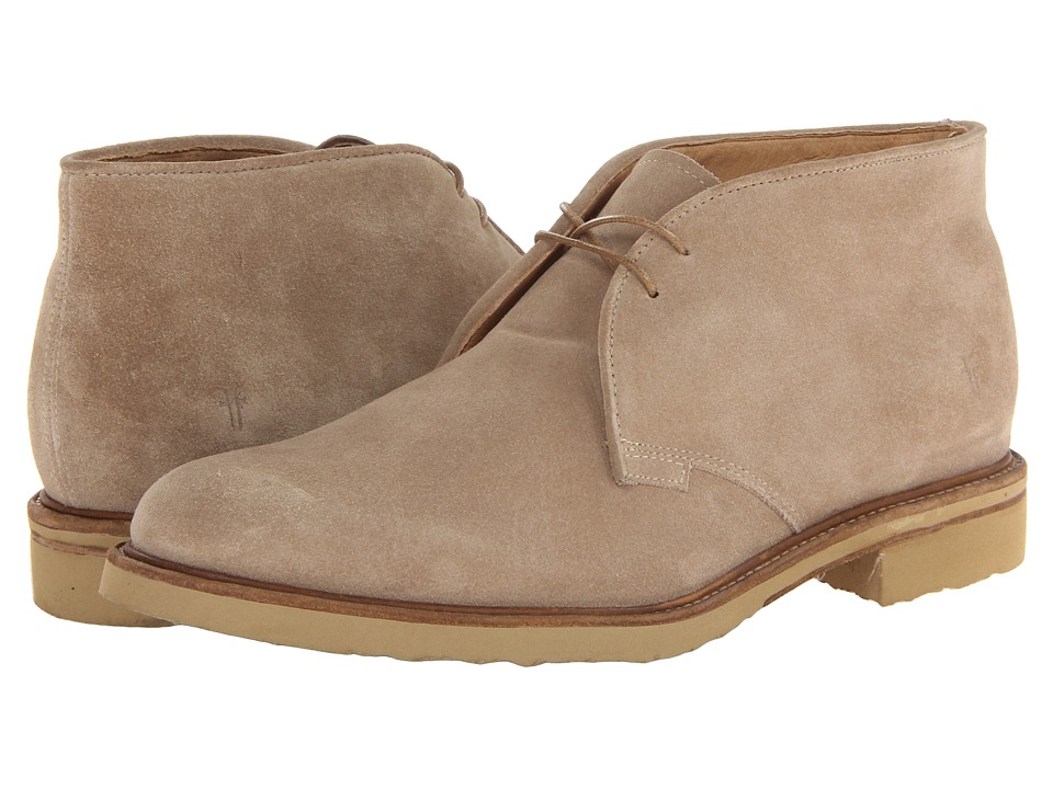 Frye - Jim Chukka (Sand Suede) Men