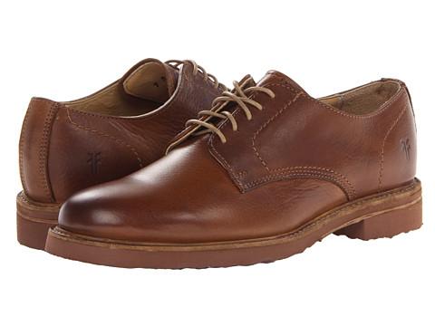 Frye - Jim Oxford (Cognac Soft Vintage Leather) Men