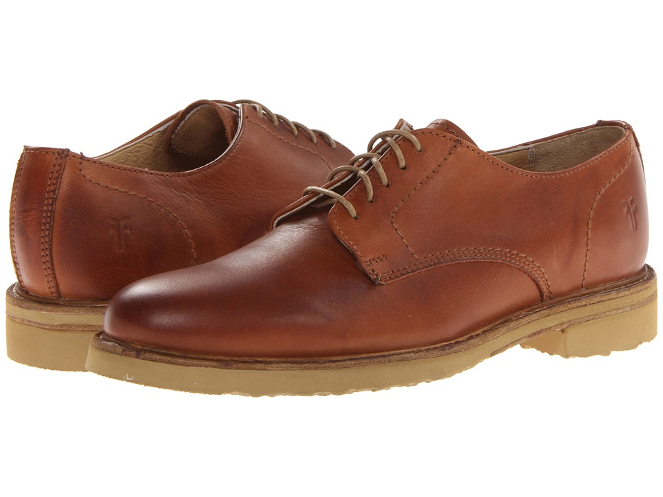 Frye - Jim Oxford (Whiskey Soft Vintage Leather) Men's Plain Toe Shoes