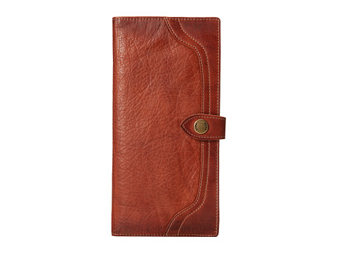 Frye - Campus Travel Wallet (Saddle Dakota) Wallet