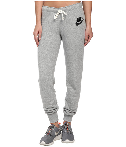 Nike - Rally Tight Pant (Dark Grey Heather/Black) Women