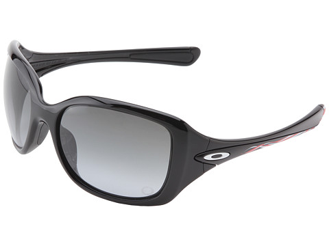 Oakley - London Necessity (Polished Black w/Black Grey Gradient) Fashion Sunglasses