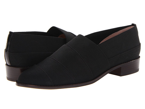 Stuart Weitzman - Elastica (Black Elastic) Women's Slip on Shoes
